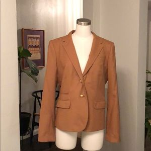J. Crew wool school boy blazer